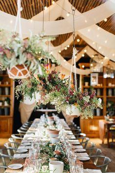wedding receptions - photo by Emily Wren Photography http://ruffledblog.com/bright-spring-wedding-at-terrain