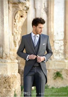 I found some amazing stuff, open it to learn more! Don't wait:https://m.dhgate.com/product/groom-tuxedos-morning-style-pure-light-grey/232020475.html