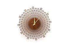 WALL CLOCK  Blocks   12 Laser Cut Wood Clock от ZephyrWoodDesigns