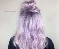 Pink and Purple Hair: Ultra-Light Purple
