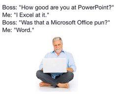 Office like a chump