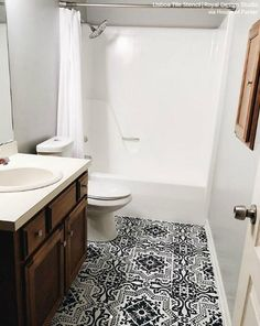 247 Best Bathroom Flooring images in 2019 | Flats, Modern ...