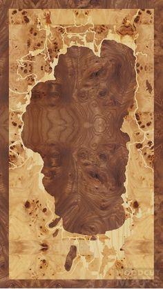 "9""x16"" Woodcut Map of Lake Tahoe -- like a seething caldera"