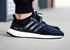 Pinterest: @sswng Adidas Ultra Boost - Black (by @jonomfg)