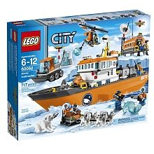 For Robbie - I'm sure any lego city set would be fine LEGO City - Arctic Icebreaker (60062)