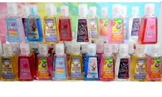 BATH & BODY WORKS Antibacteriales pocket size Ricas fragancias