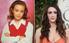 Madeline Zima, now 27, started acting when she was seven. One of the many roles she played was Grace in the hit show The Nanny. Madeline is still working in the business and has appeared in shows such as Grey's Anatomy, Californication and The Vampire Diaries.