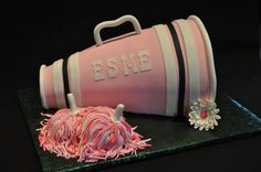 Cheerleading Cake @Isabella Brooks  How cute is this????