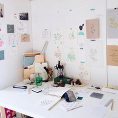 mipluseddesign:  my studio is filled with a beautiful light this morning
