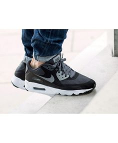 brand new 4aa2e 913fc Buy the latest fashion Nike Air Max 90 Ultra Essential Black Dark Grey Pure  Platinum Women s Shoes save up to off.