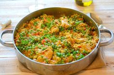 Brazilian Saffron Rice w/ Chicken and Vegetables (Galinhada Mineira): A hearty and complete meal! - From Brazil To You