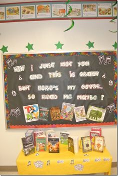 Read Me Maybe! | February Library Bulletin Board Display