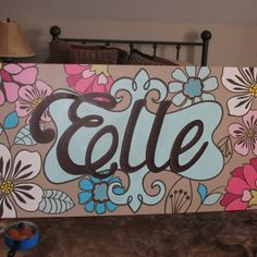 love the canvas and love the name!