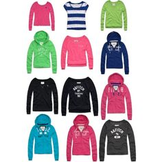 Abercrombie and Fitch clothes