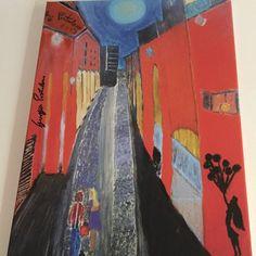 Stampa 1/3 dell'opera Incontrarsi al Pratello Con critica e Catalogo conservato nella biblioteca di arte ed estetica dell'università Carlo Bo di Urbino