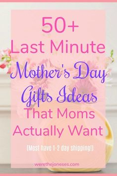 50 last minute Mother's Day Gifts ideas that the mom in your life REALLY wants! Check out definitely what I'm hoping for! 50 last minute Mother's Day Gifts ideas that the mom in your life REALLY wants! Check out definitely what I'm hoping for! Mothers Day Gifts From Daughter Diy, Homemade Mothers Day Gifts, Mothers Day Crafts For Kids, Unique Mothers Day Gifts, Diy Gifts For Kids, Mothers Day Cards, Grandma Gifts, Mother Day Gifts, Gifts For Mom