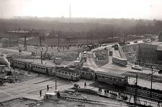 Ilyen is volt Budapest - Örs vezér tere Old Pictures, Old Photos, Vintage Photos, Budapest Hungary, Historical Photos, Paris Skyline, Istanbul, Arch, Marvel