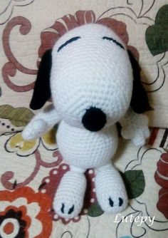LuTepy Collecttion: SNOOPY pattern amigurumi FREE