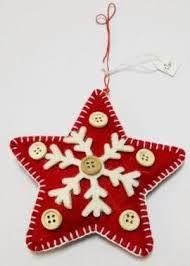 Αποτέλεσμα εικόνας για χριστουγεννιατικα στολιδια απο τσοχα