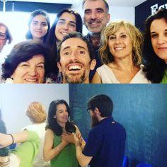 La alegría es una sensación que sale del corazón   Ha sido un día de #felicidad  #barcelona #workshop @vibentiaworld @jordivilajosana @canolopezana11 Judit Mireia Rosalía Genís #selfie #feelings #happiness