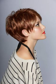 New Styles Summer Hairstyles Short Hair Trends Beautiful Hairstyles For The Summer For Short - Hairstyle hair ideas of summer hairstyles for short hair - Modern Bob hair cuts have a favorite of innovations. Modern Short Hairstyles, Short Hairstyles For Thick Hair, Cute Short Haircuts, Very Short Hair, Haircut For Thick Hair, Short Hair Cuts For Women, Pixie Hairstyles, Summer Hairstyles, Pixie Haircuts