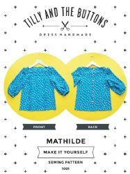 Tilly and the Buttons MATHILDE sewing pattern