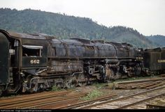 RailPictures.Net Photo: CRR 662 Clinchfield Railroad Steam 4-6-6-4 at Erwin, Tennessee by Kyle Korienek Collection