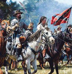 Nathan B. Forrest at Battle of Okolona.