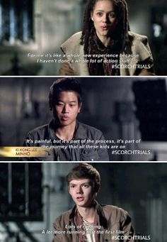 From Maze Runner: The Scorch Trials Exclusive Cast Clip