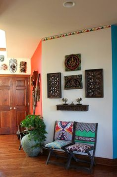 Vibrant Indian Homes   Indian furniture, Eclectic design and Drawing ...