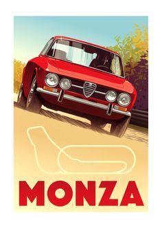 Guy Allen — Monza - Alfa Romeo GTV