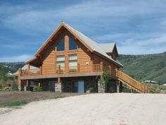 The Ultimate In Log Home Living Is A Whisper Creek