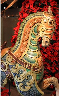 Carousel Horse Vintage Carousel Horse by Suzanne Gaff.Vintage Carousel Horse by Suzanne Gaff. The Magic Faraway Tree, Carosel Horse, Painted Pony, Hand Painted, Hand Carved, Wooden Horse, Merry Go Round, Vintage Circus, Vintage Horse