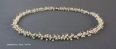 schmucke Perlenkette Ring Verlobung, Beaded Bracelets, Diamond, Gold, Jewelry, String Of Pearls, Engagement Ring, Schmuck, Wedding