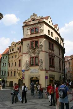 Hotel U Zlate Studny in Prague...I stayed here once and would stay there again!