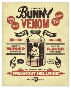 Bunny Venom  Ryan Begglen Art