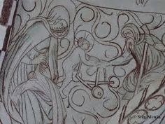 Kalkmålningar: Brönnestads kyrka