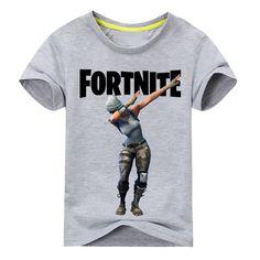 Licensed Fortnite Gray short sleeve Kids children's shirt girls several sizes