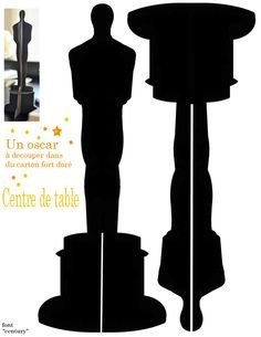 Printable Oscar Statue