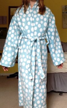 Awesome and easy bathrobe pattern!