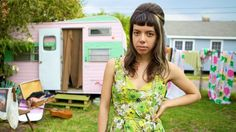 Alynda Lee Segarra records as Hurray For The Riff Raff, one of the emerging acts making its debut at the Newport Folk Festival this year.