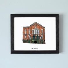 Illustrated pubs of Belfast – Cowfield Design Belfast Pubs, 10 Frame, Irish, How To Draw Hands, Framed Prints, Unique, Drawings, Illustration, Gifts