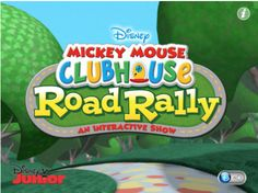 """TOP 100 FREE APPS FOR KIDS - MICKEY MOUSE CLUBHOUSE ROAD RALLY APPISODE!  Disney has started a new series of Mickey Mouse Clubhouse """"appisodes"""" and they're offering the first one free! I tested this with two five-year olds and the results were very good, allowing the rest of the adults to finish our meal in peace.    The app was released three days ago and is already No.1 on the iTunes free education apps chart!"""