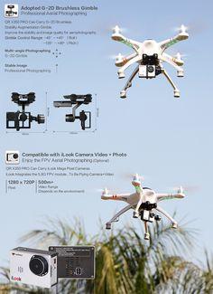 Walkera QR X350 PRO GPS Remote Control Quadcopter #drone