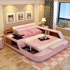 Bedroom Decor For Teen Girls, Cute Bedroom Ideas, Cute Room Decor, Room Ideas Bedroom, Bedroom Sets, Girl Bedrooms, Oak Bedroom, Queen Bedroom, Cool Girl Rooms