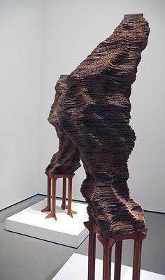 Tobias Putrih's cardboard sculpture, Macula Series A | ARTC3110 MO1 3D Computer Modeling