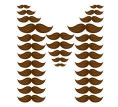 M is for moustache.  :) & MICHAEL