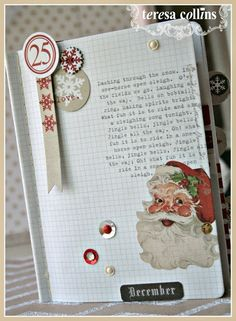 CHerInspirations: It's begining to look a lot like Christmas, Santa'...