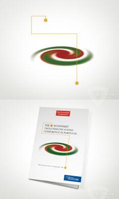 Economist Conferences -   The Economist Telecomunications Conference in Portugal  - www.versal.net • Diseño Gráfico • Identidad Visual Corporativa • Publicidad • Diseño Páginas Web • Ilustración • Graphic Design • Corporate Identity • Advertising • Web Pages • Illustration • Logo