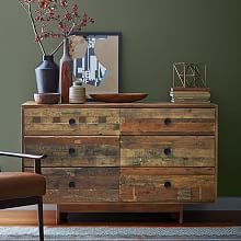 Emmerson™ Reclaimed Wood 6-Drawer Dresser - Natural